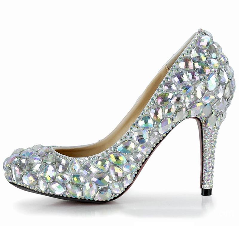 Ericdress Amazing Crystal Wedding Shoes
