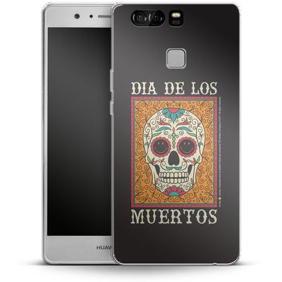 Huawei P9 Silikon Handyhuelle - Dia De Los Muertos von Smiley®