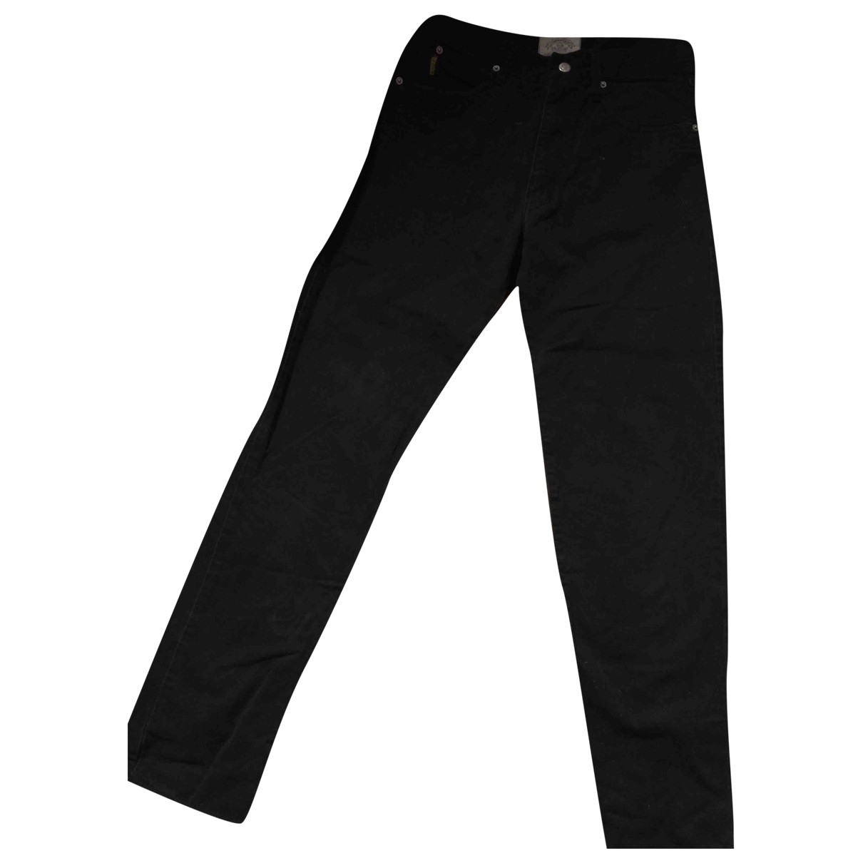 Armani Jeans \N Black Cotton Jeans for Women 33 US