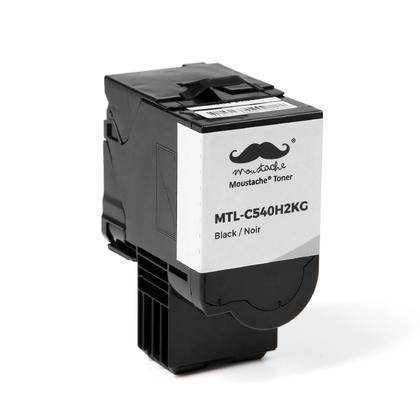 Compatible Lexmark C540H2KG cartouche de toner noire haute capacite - Moustache@