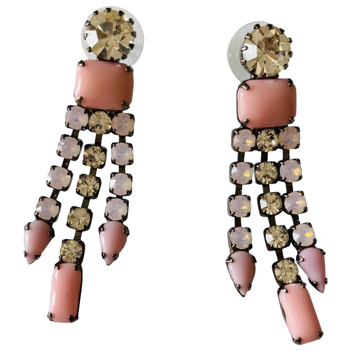 Tom Binns \N OhrRing in  Rosa Metall