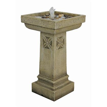 SS12241 White Chapel Manor Pedestal Fountain In