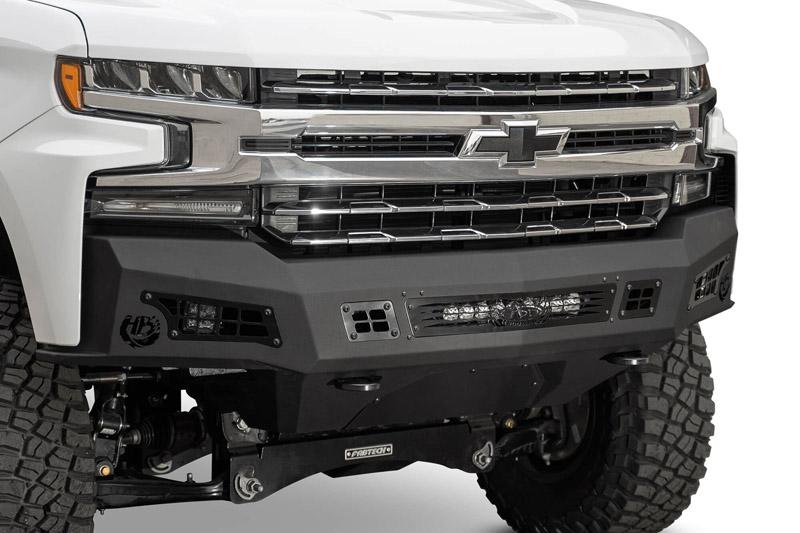 Addictive Desert Designs F447382080103 Honeybadger Front Bumper Chevy Silverado 1500 2019+