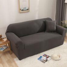 Funda de sofa elastica unicolor sin cojin