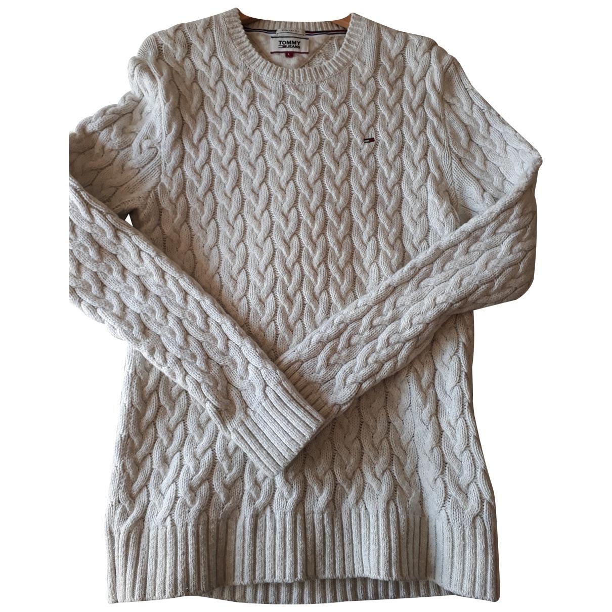 Tommy Jeans \N Beige Cotton Knitwear & Sweatshirts for Men L International