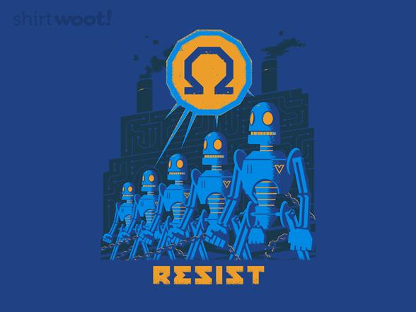 Robot Resistance T Shirt