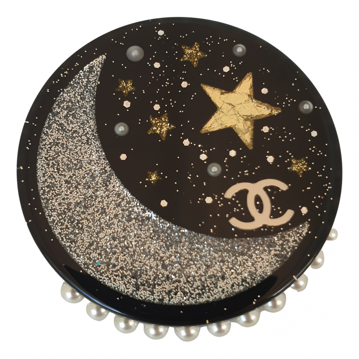 Chanel Comète Black Pins & brooches for Women \N