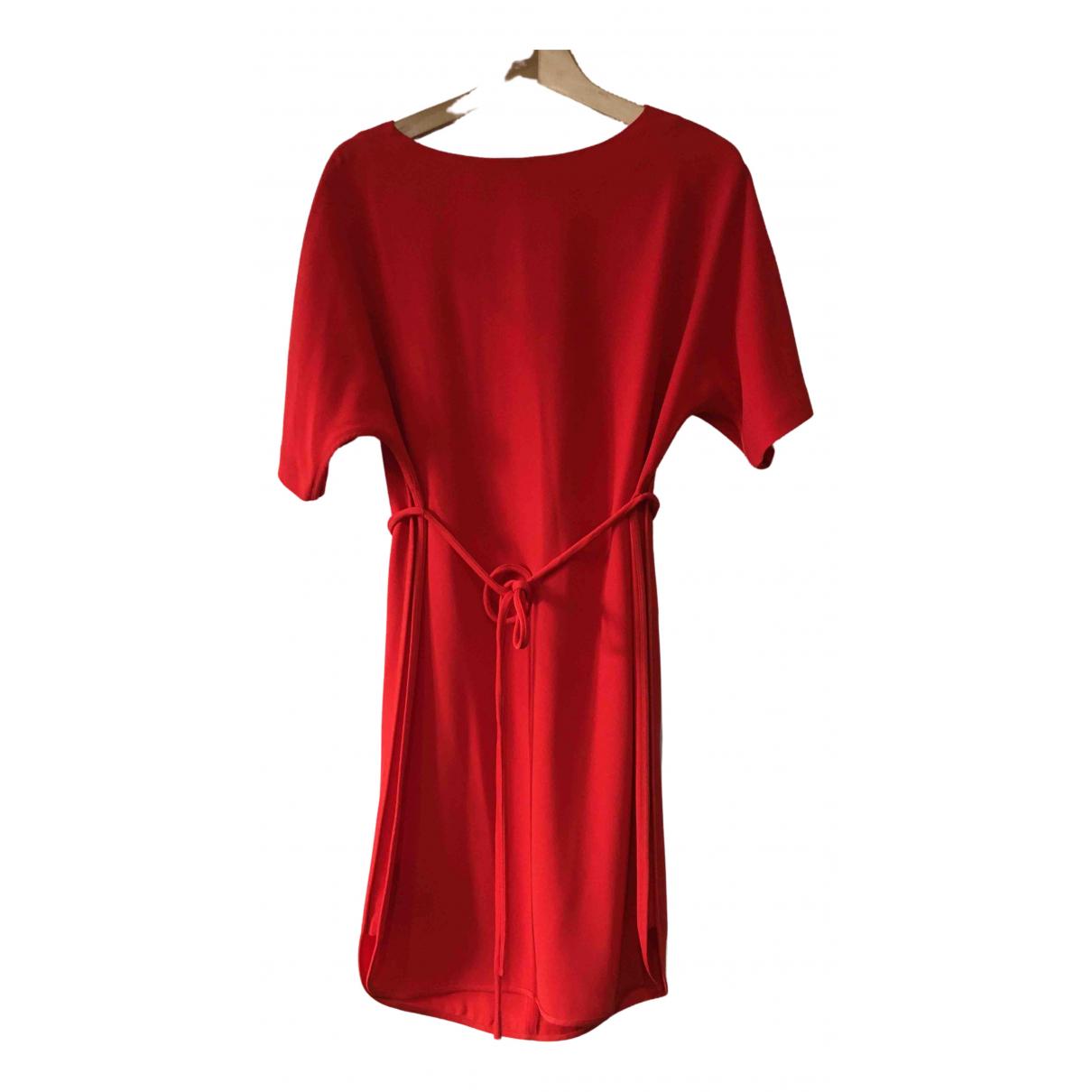 Gerard Darel \N Kleid in  Rot Polyester
