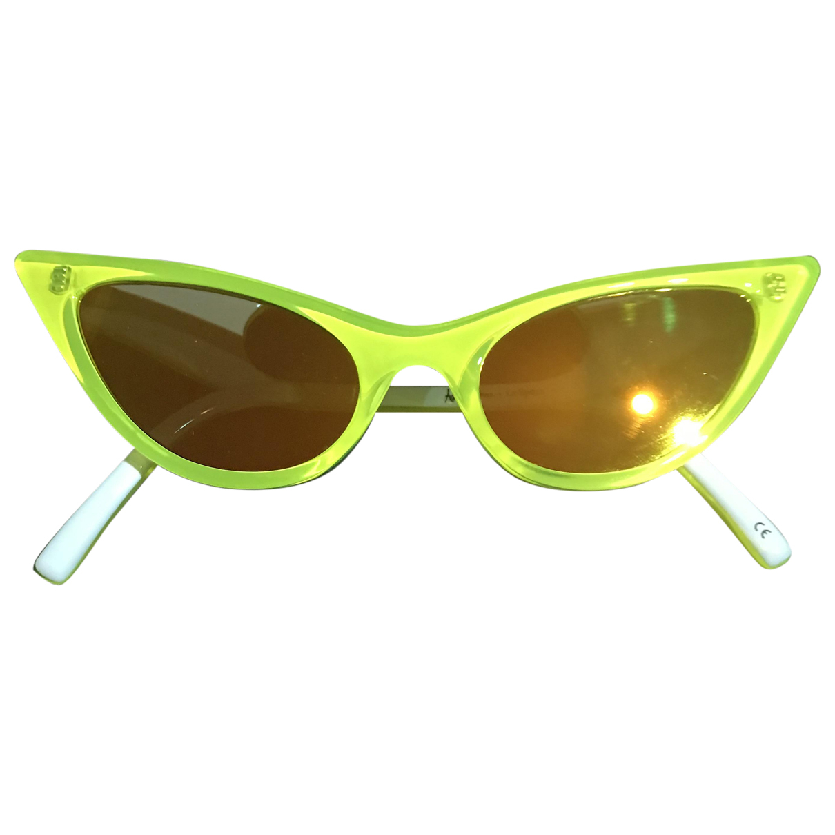 Le Specs \N Yellow Sunglasses for Women \N