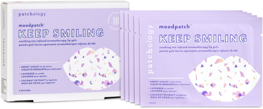 Moodpatch ''Keep Smiling'' Soothing Tea-infused Aromatherapy Lip Gels