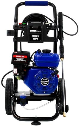 XP2700PWS 2700 PSI Gas Engine Turbo Nozzle Pressure Washer with 2.3 Gallons Per Minute Cleaning Power  Quick Change Connectors  Rear Hose Connection