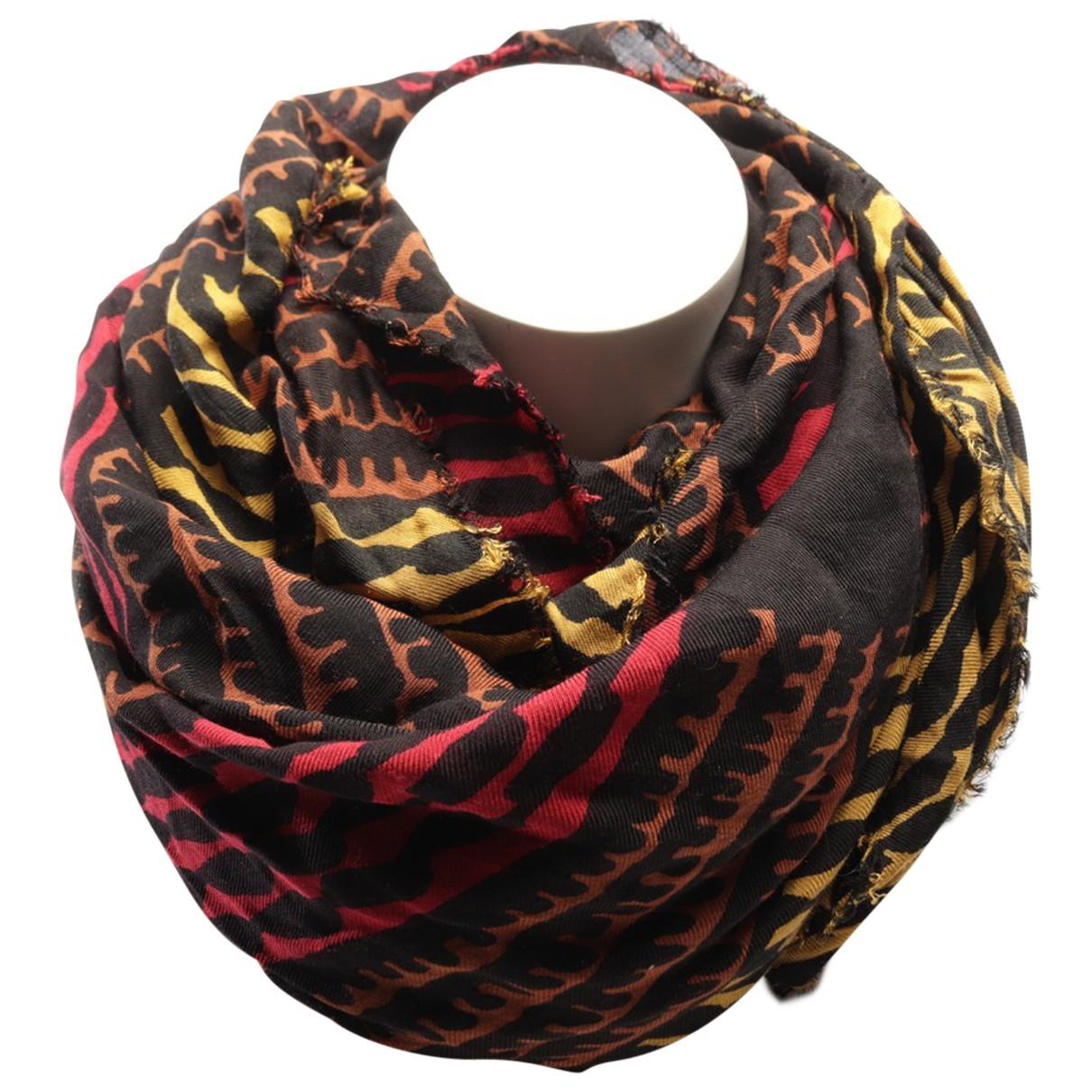 Burberry - Foulard   pour femme en laine - multicolore