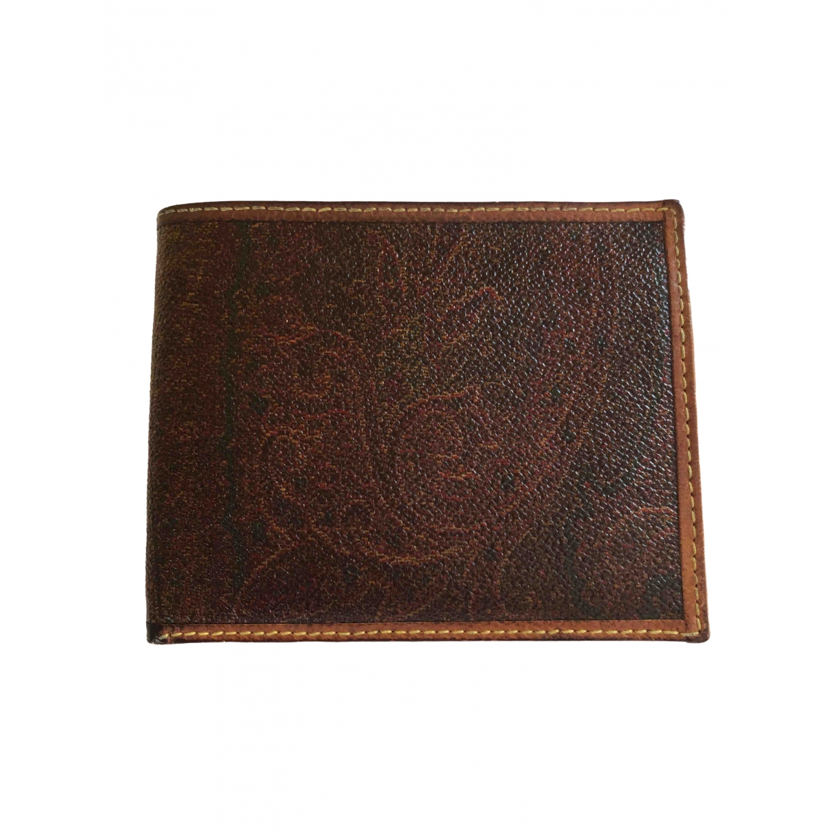 Etro \N Portemonnaie in  Bunt Leder