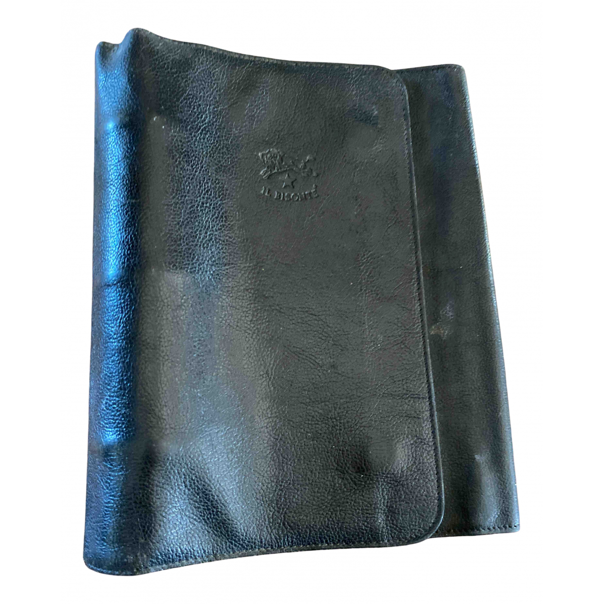Il Bisonte - Objets & Deco   pour lifestyle en cuir - noir
