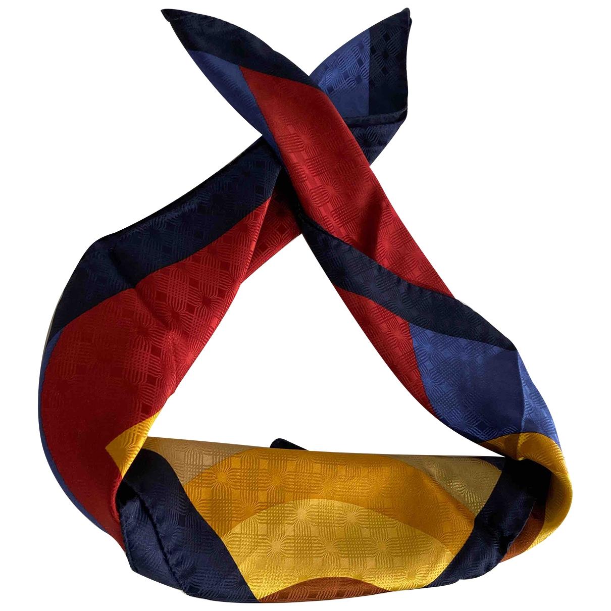 Ermenegildo Zegna \N Multicolour Silk scarf for Women \N
