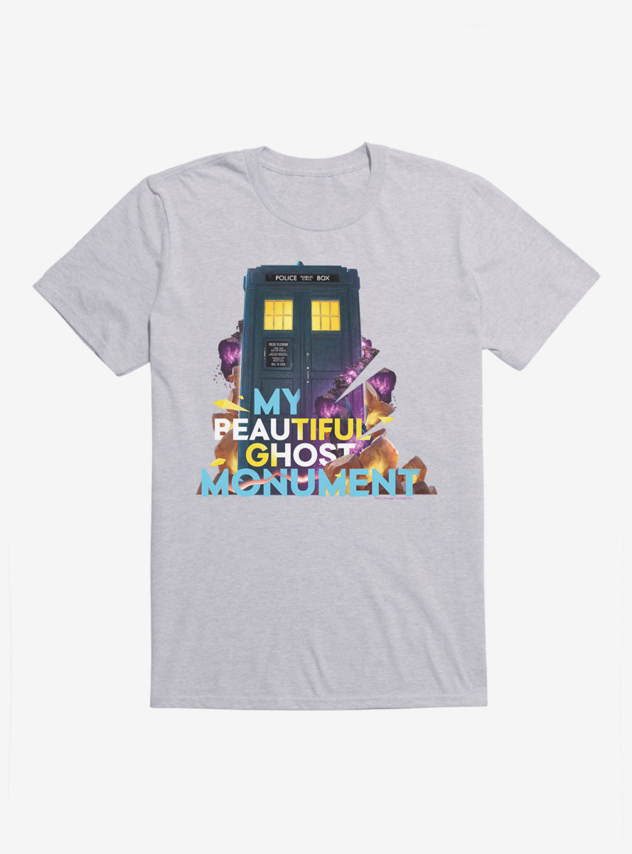 Doctor Who Thirteenth Doctor Beautiful Ghost Monument T-Shirt