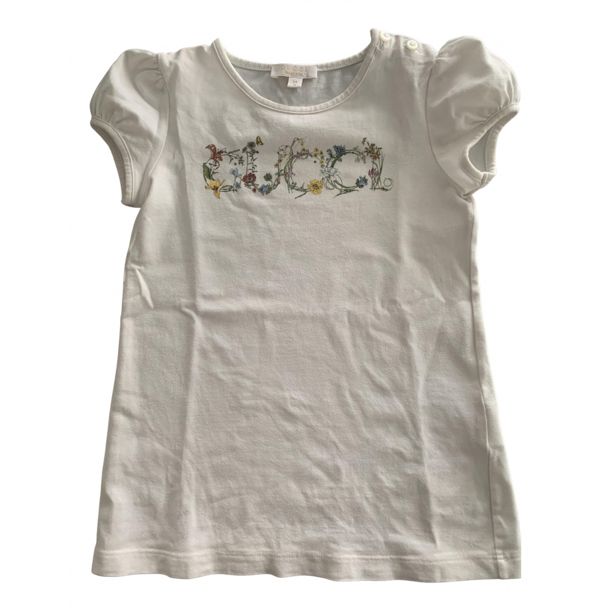 Gucci N White Cotton dress for Kids 2 years - up to 86cm FR