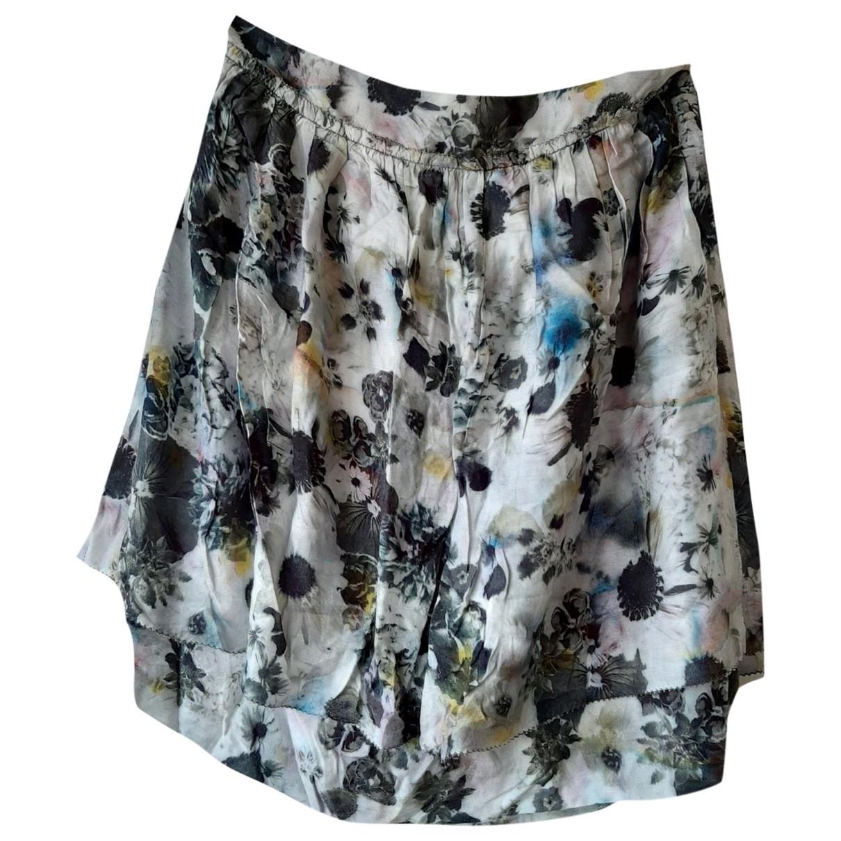 Paul Smith - Jupe   pour femme en soie - multicolore