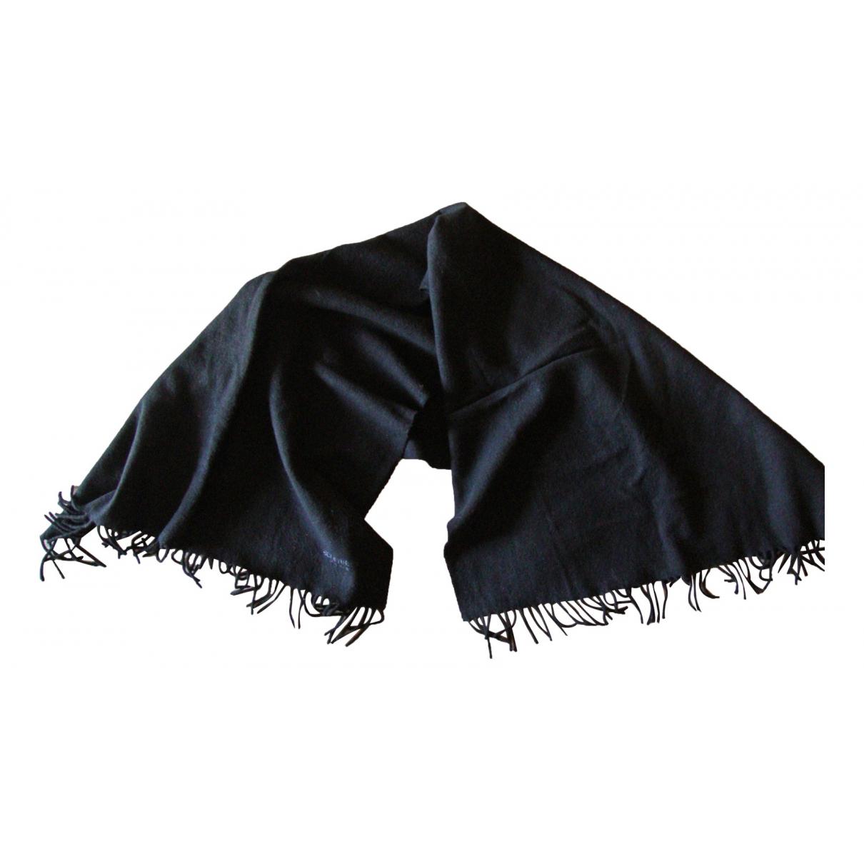 Jean-louis Scherrer N Black Wool scarf for Women N