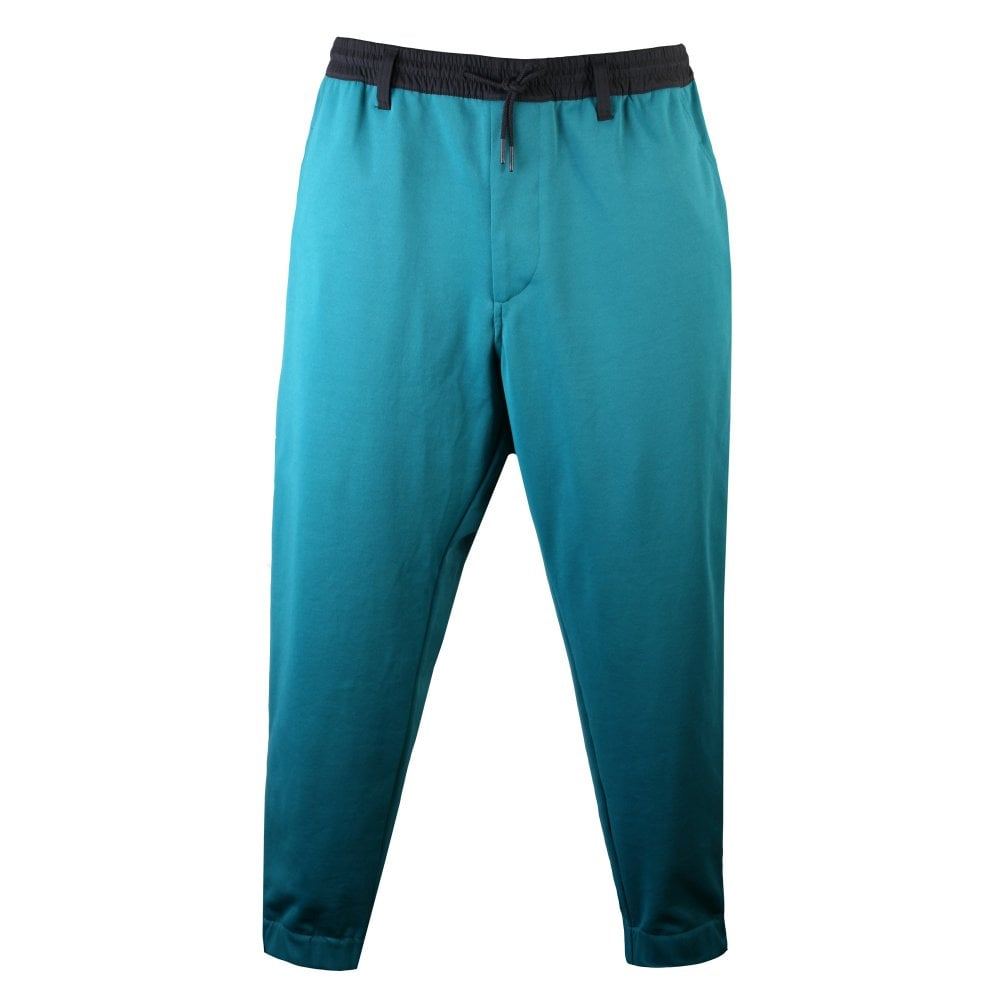 Y-3 Y3 Classic Track Pants Green Colour: TEAL, Size: L
