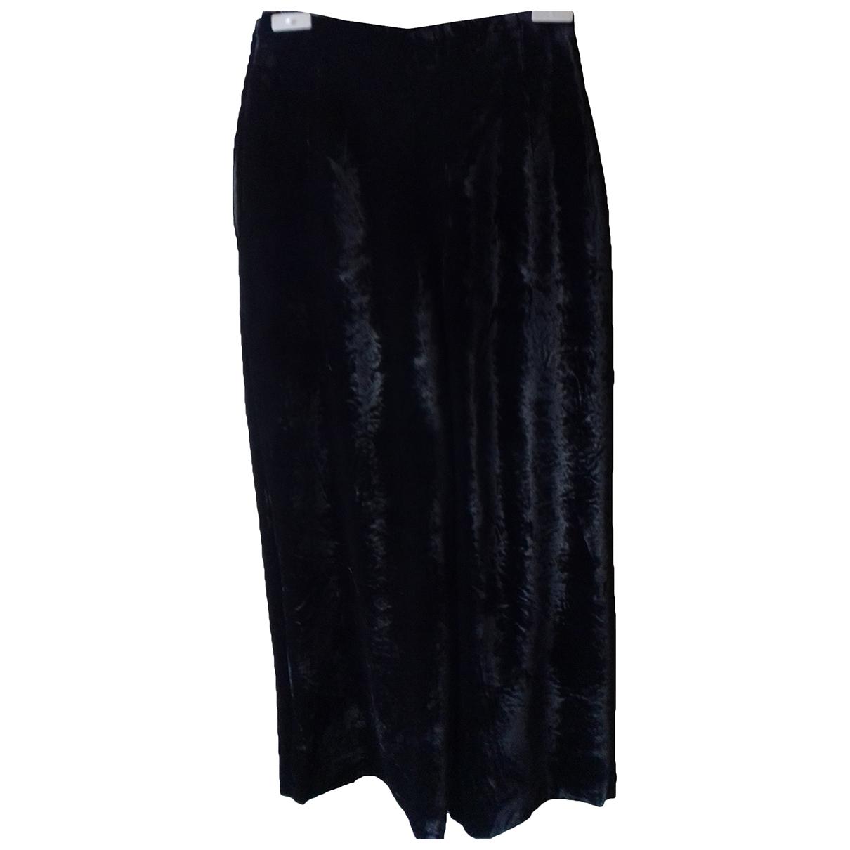 Krizia \N Black Trousers for Women 42 IT