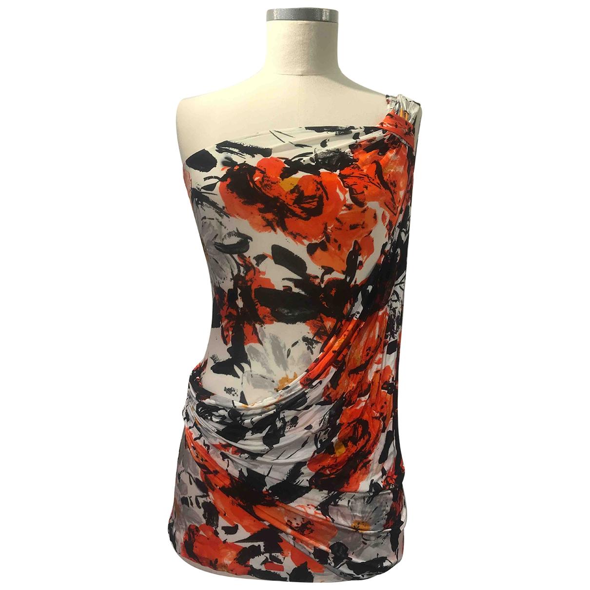 Balenciaga \N Kleid in  Bunt Viskose