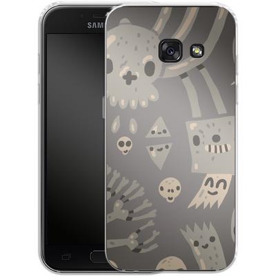 Samsung Galaxy A3 (2017) Silikon Handyhuelle - Cartoon Bones von caseable Designs