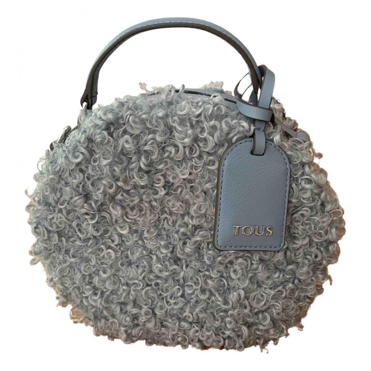 Atelier Tous \N Handtasche in  Blau Schaf
