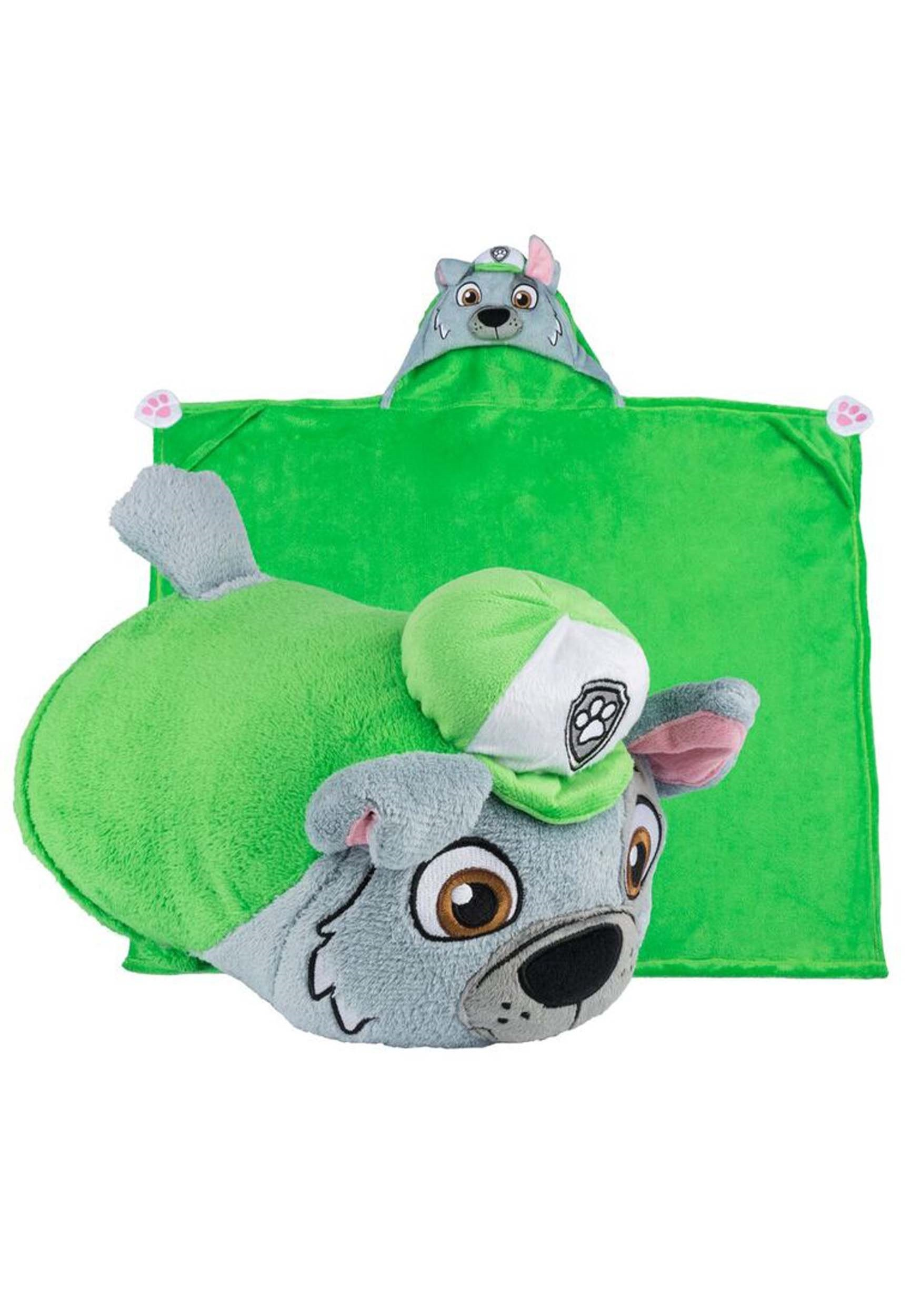 Paw Patrol Rocky Comfy Critter Costume Blanket