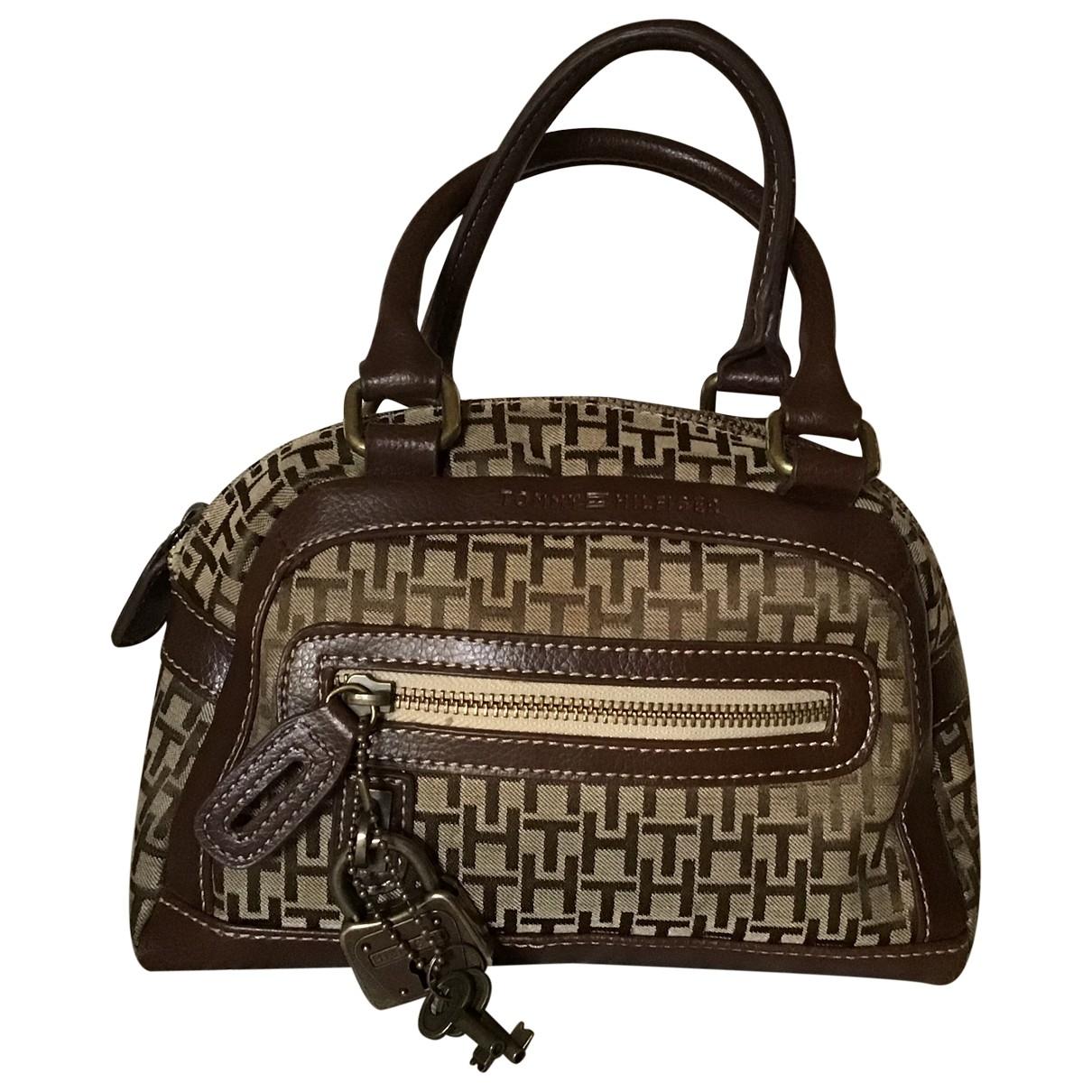 Tommy Hilfiger \N Brown Leather handbag for Women \N