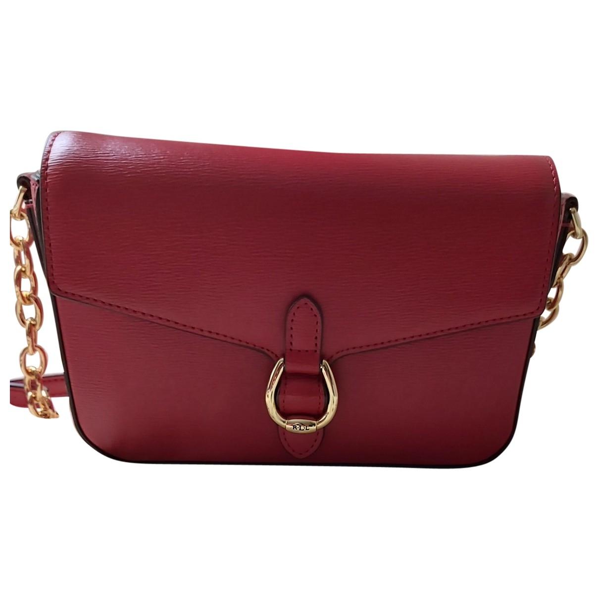 Ralph Lauren \N Red Leather handbag for Women \N
