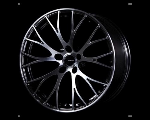 Homura 2X10 RCF Wheel 20x8.5 5x114.3 45mm RAYS Black Metal Coat/DC/Machining