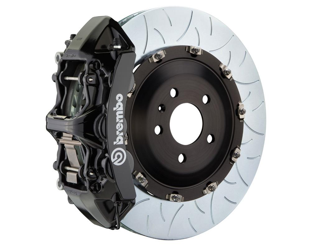 Brembo GT 405x34 2-Piece 6 Piston Black Slotted Type-3 Front Big Brake Kit