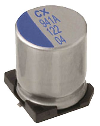 Nichicon 10μF Polymer Capacitor 50V dc, Surface Mount - PCX1H100MCL1GS