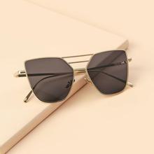 Men Top Bar Metal Frame Sunglasses