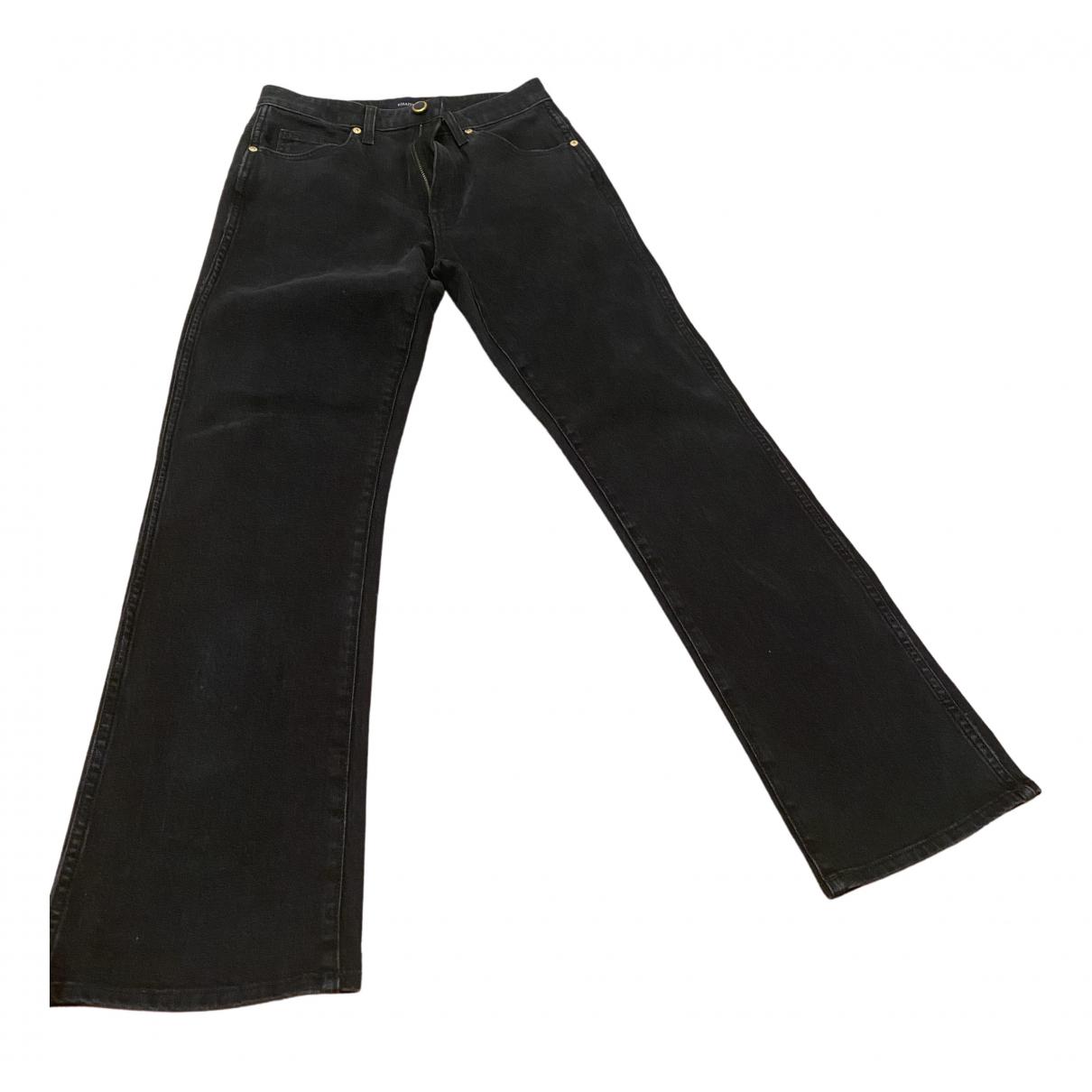 Khaite \N Black Cotton - elasthane Jeans for Women 27 US