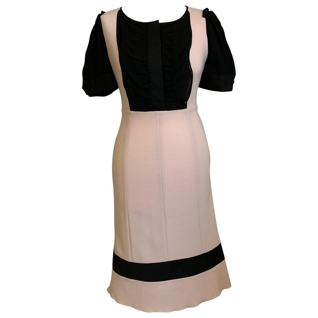 Diane Von Furstenberg \N Kleid in  Rosa Wolle