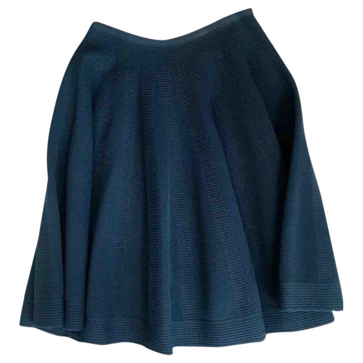 Alaïa \N Blue skirt for Women 40 FR