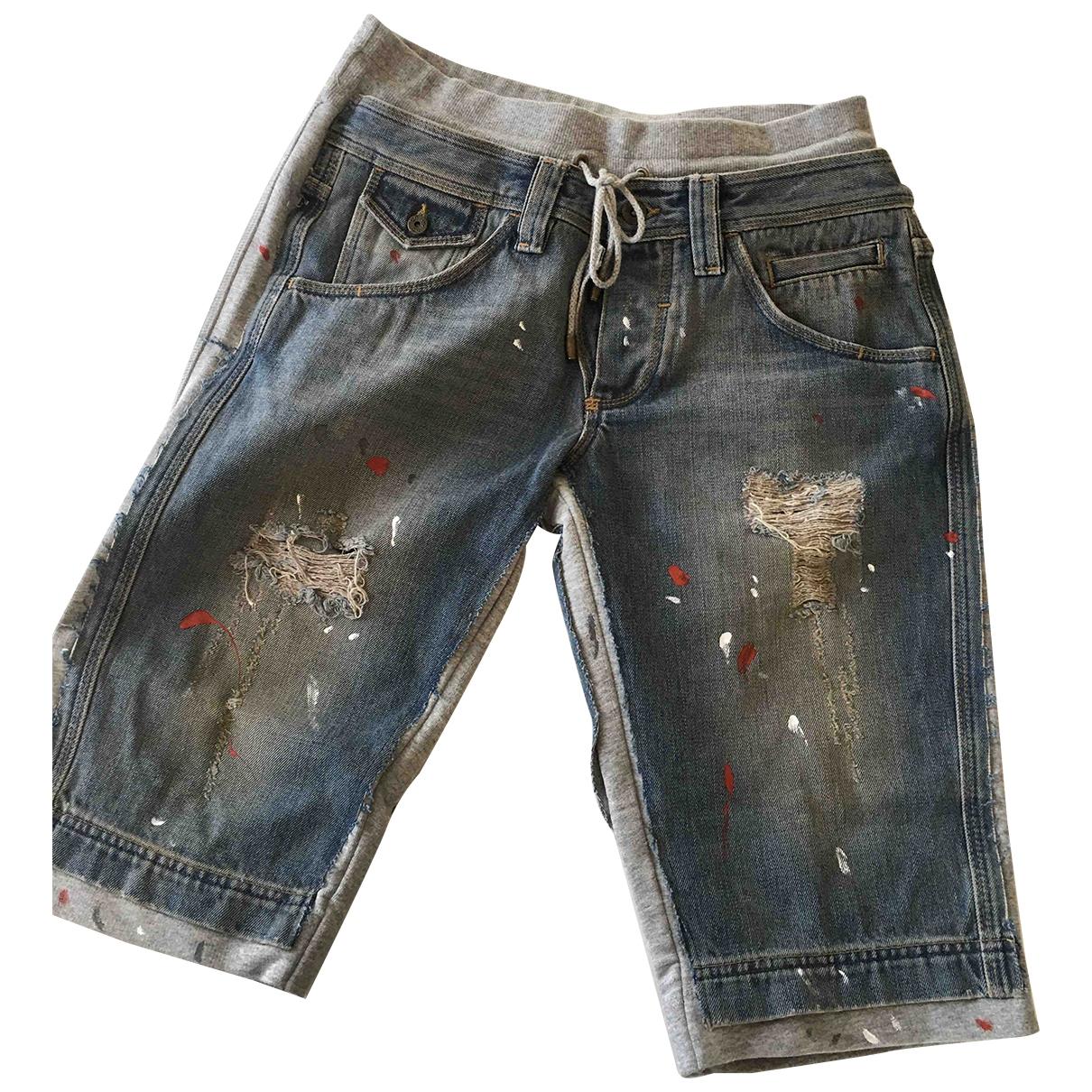 Pantalon corto D&g