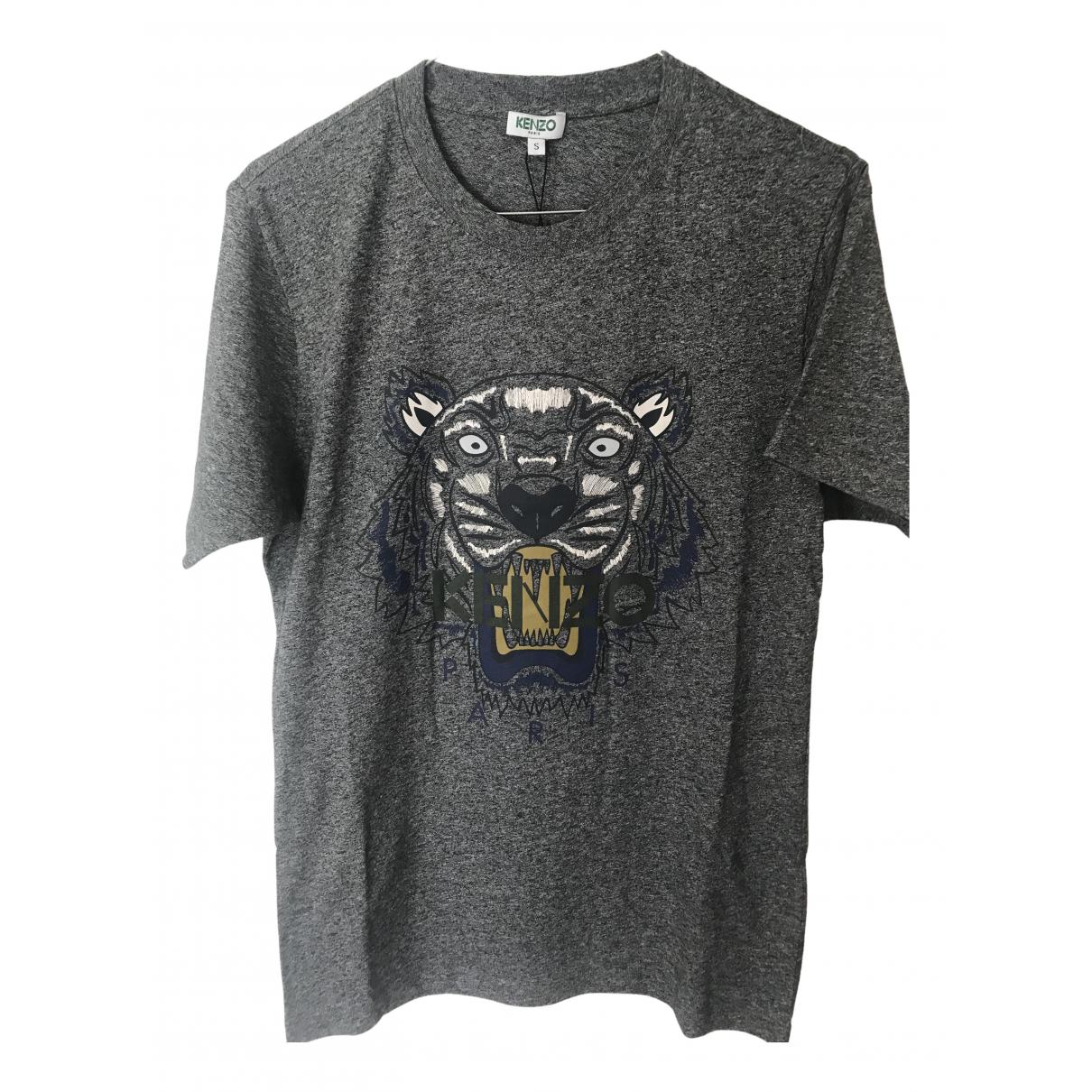 Kenzo \N Grey Cotton T-shirts for Men S International