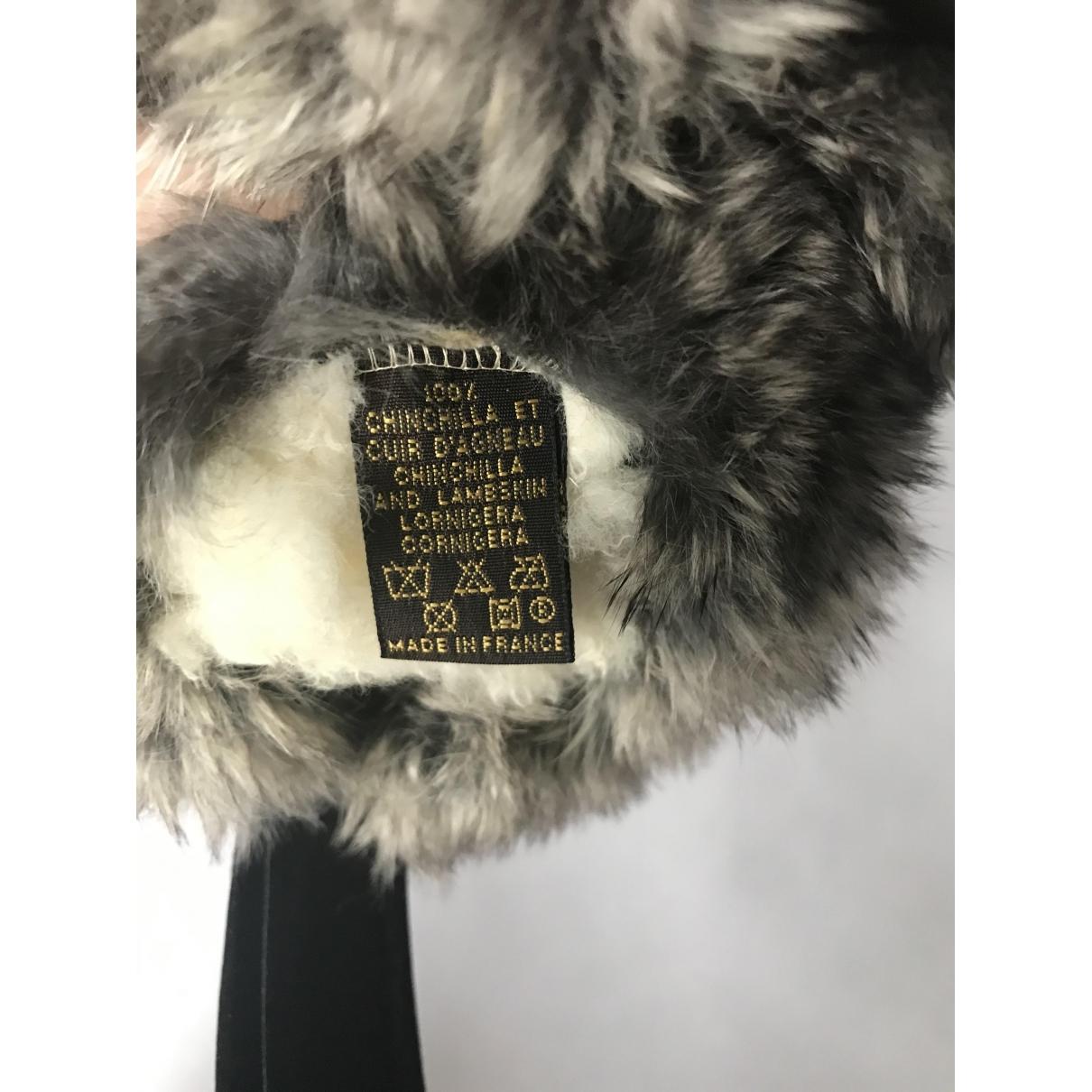 Sombrero / gorro de Chinchilla Louis Vuitton