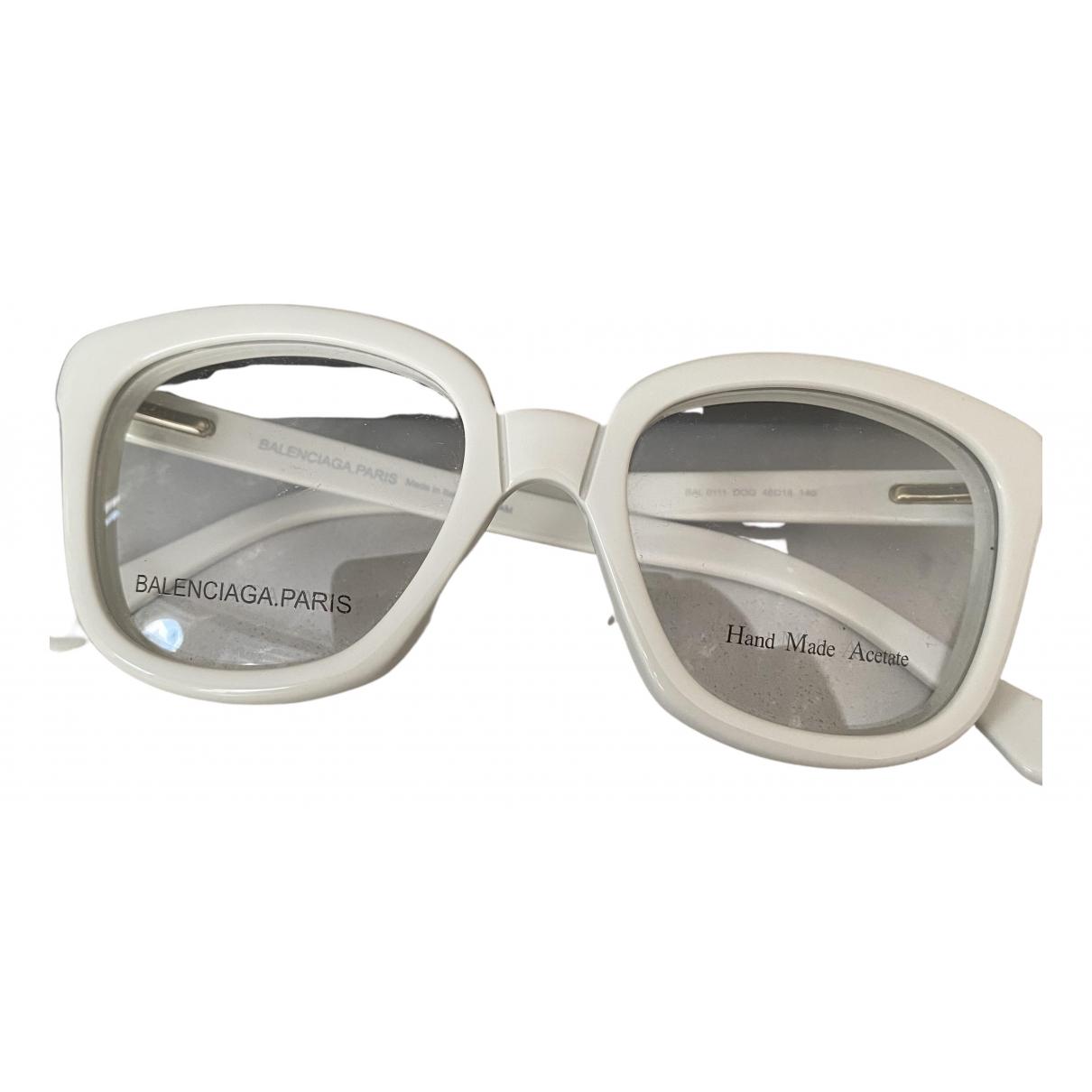 Balenciaga \N White Sunglasses for Women \N