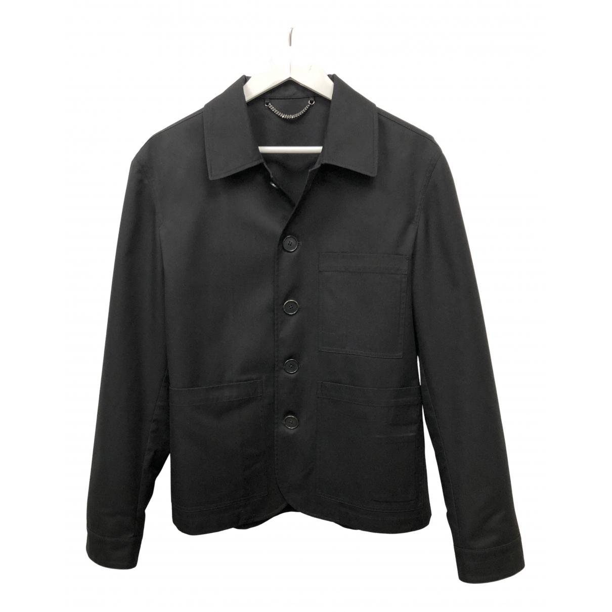 Gieves & Hawkes - Vestes.Blousons   pour homme en coton - noir