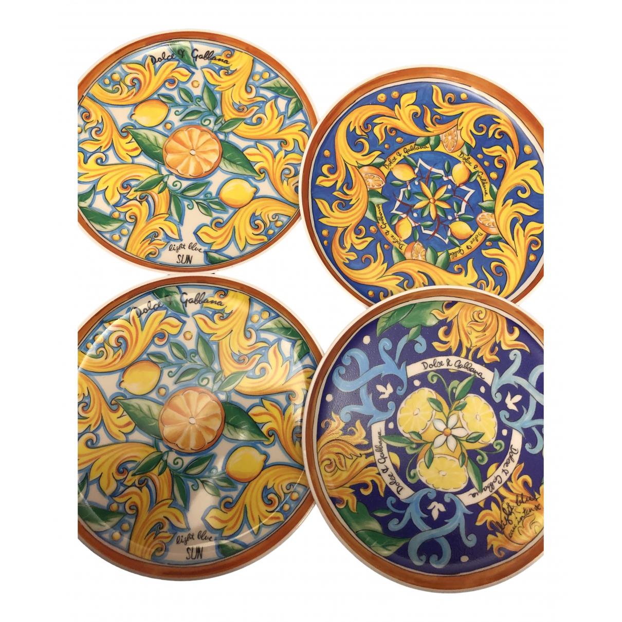 Dolce & Gabbana - Arts de la table   pour lifestyle - multicolore