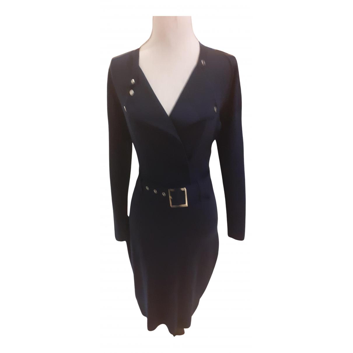 Karen Millen \N Kleid in  Blau Wolle
