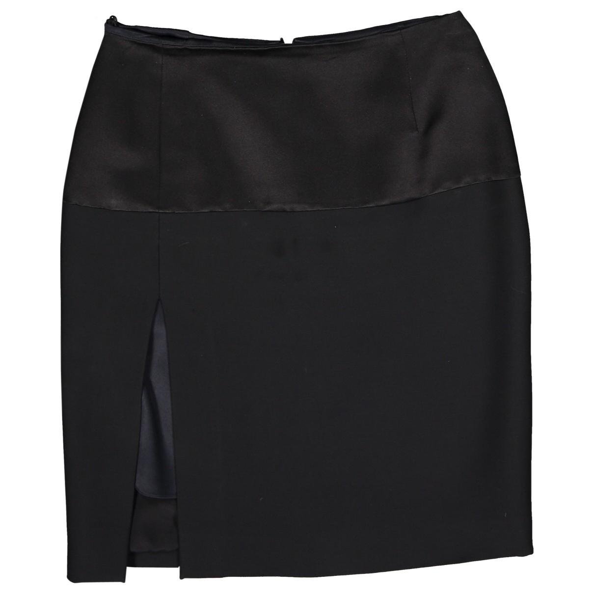 Dior \N Black Wool skirt for Women 40 FR