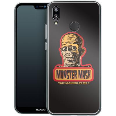 Huawei P20 Lite Silikon Handyhuelle - Monster Mash von caseable Designs
