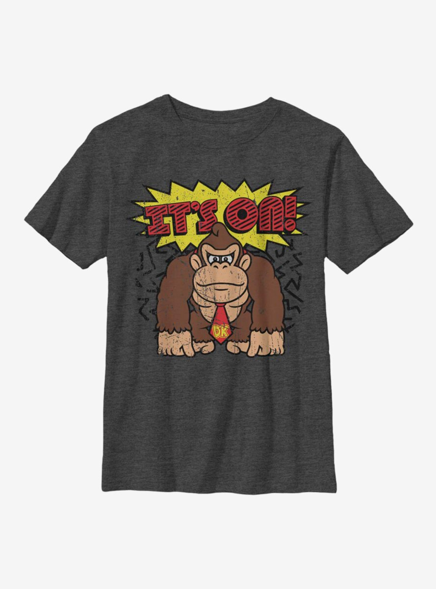 Nintendo Donkey Kong It's On Youth T-Shirt