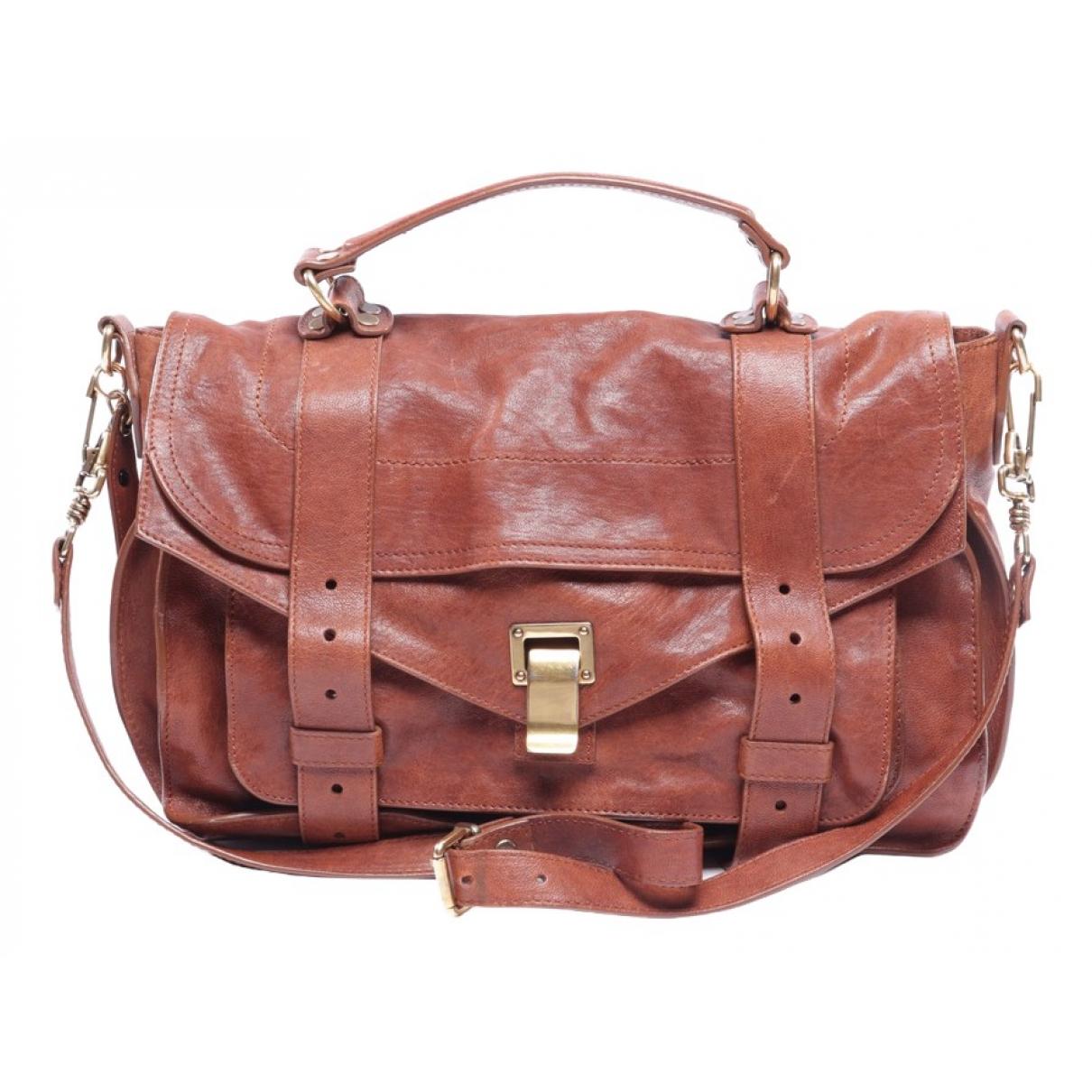 Proenza Schouler PS1 Brown Leather handbag for Women \N
