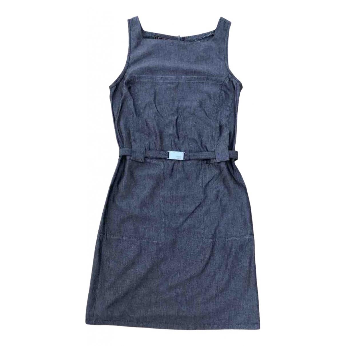 Fendi - Robe   pour femme en lin - gris